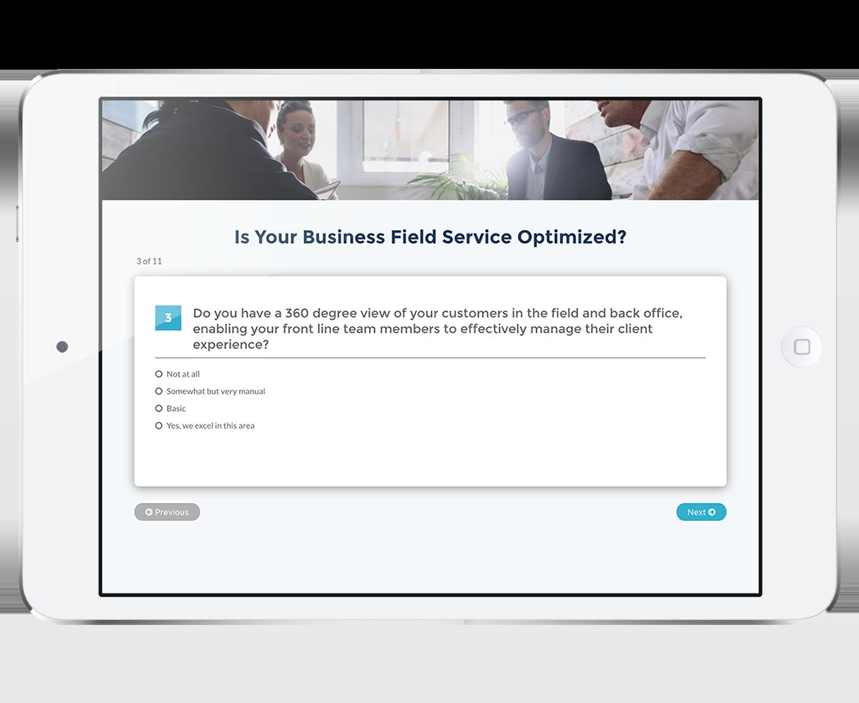 field-service-optimization-survey