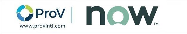 ProV ServiceNow logos